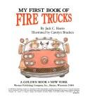 My First Book of Fire Trucks