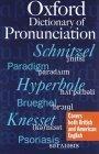 A Oxford Dictionary of Pronunciation
