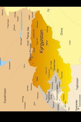 Map of Kyrgyzstan Journal