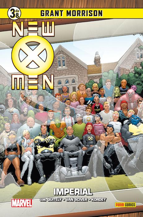 Coleccionable New X-Men #3 (de 8)
