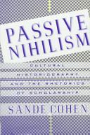 Passive Nihilism