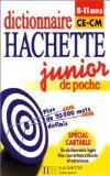Dictionnaire Hachette junior de poche