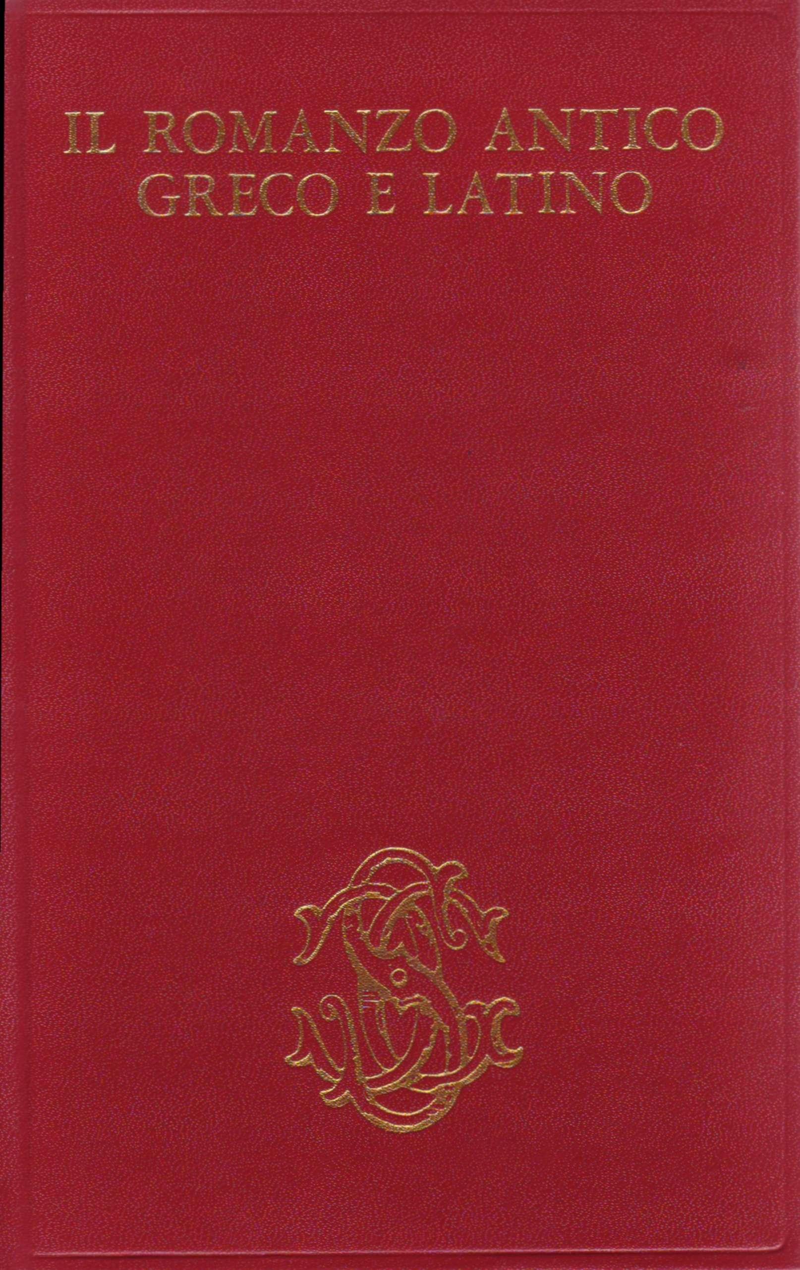 Il romanzo antico gr...