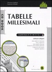 Tabelle millesimali. Con CD-ROM