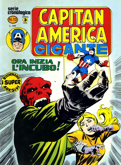 Capitan America Gigante n. 13