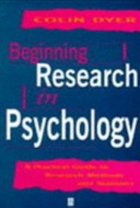 Beginning Research in Psychology