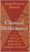 Classical Mathematic...