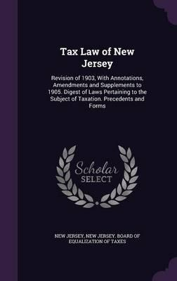 Tax Law of New Jersey