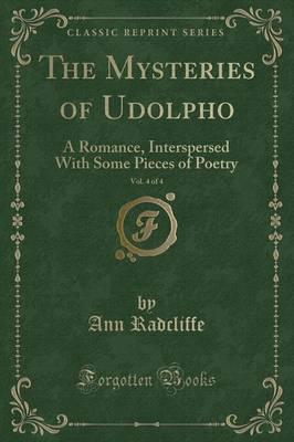 The Mysteries of Udolpho, Vol. 4 of 4