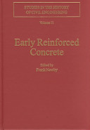 Early reinforced concrete