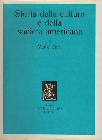 Storia della cultura e della società americana