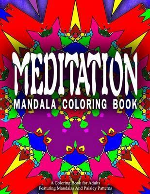 Meditation Mandala Coloring Book