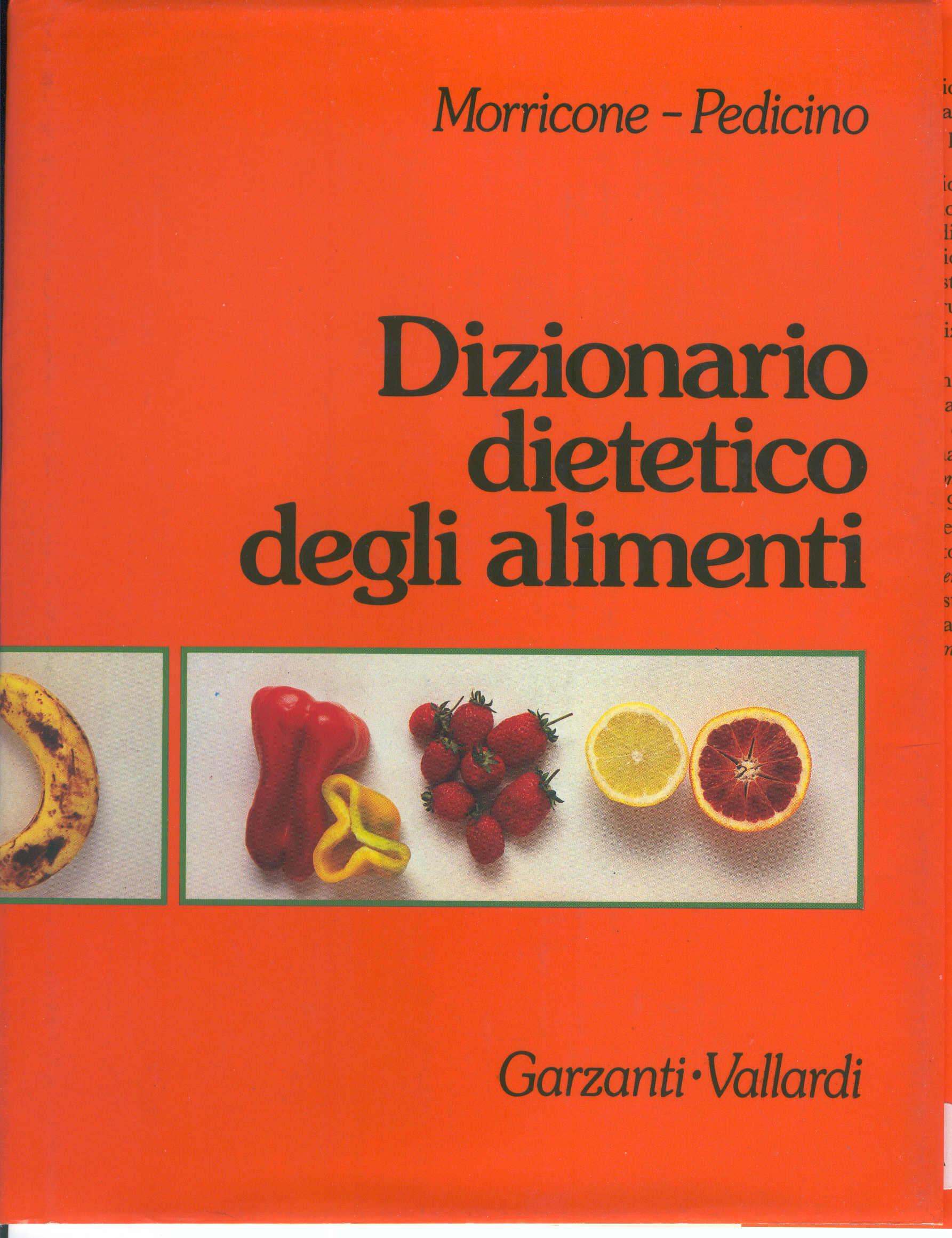 Dizionario dietetico degli alimenti