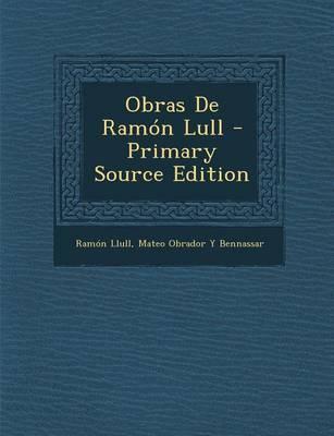 Obras de Ramon Lull