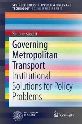Governing Metropolitan Transport