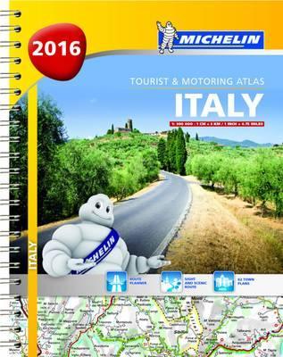 Italien 2016 Atlas Michelin A4