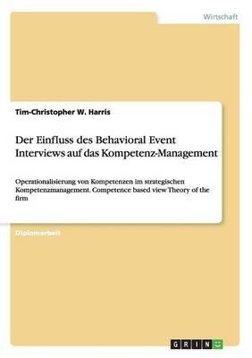 Der Einfluss des Behavioral Event Interviews auf das Kompetenz-Management