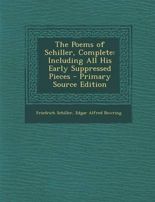 The Poems of Schiller, Complete