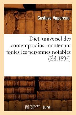 Dict. Universel des Contemporains