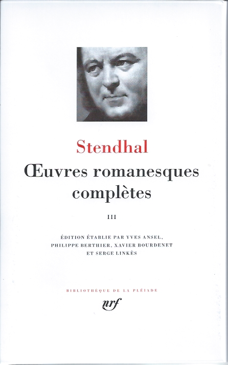 Oeuvres romanesques complètes, Tome 3