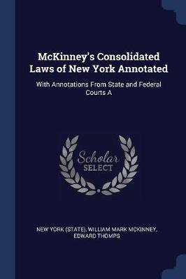 McKinney's Consolidated Laws of New York Annotated