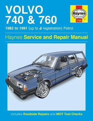 Volvo 740 & 760 Petrol (82 - 91) Haynes Repair Manual