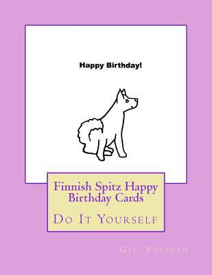 Finnish Spitz Happy Birthday Cards
