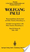 Wissenschaftlicher Briefwechsel mit Bohr, Einstein, Heisenberg, u.a: 1930-1939