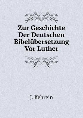 Zur Geschichte Der D...