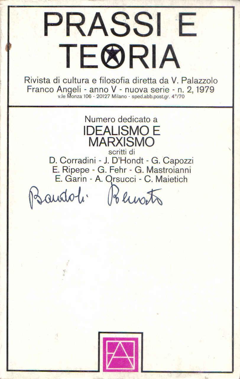 Idealismo e marxismo