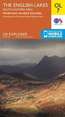 OS Explorer OL7 The English Lakes - South Eastern area