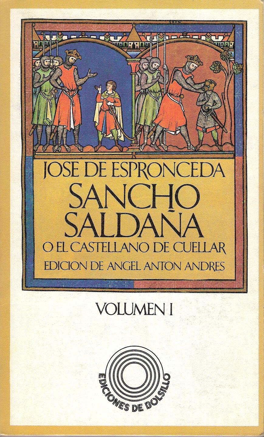 Sancho Saldaña o el castellano de Cuéllar I