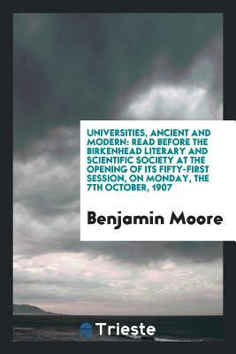 Universities, Ancien...