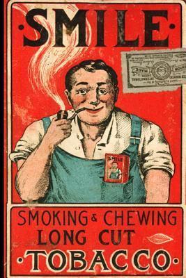Vintage Cigarette Label Journal