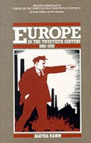 Grant and Temperley's Europe in the Nineteenth and Twentieth Centuries: Europe in the twentieth century, 1905-1970