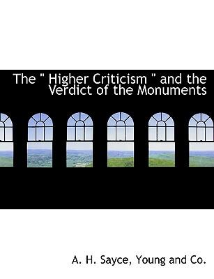 "The "" Higher Critici..."