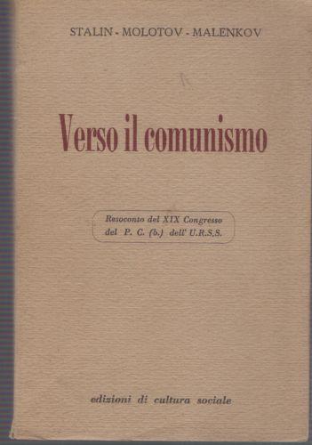 Verso il comunismo