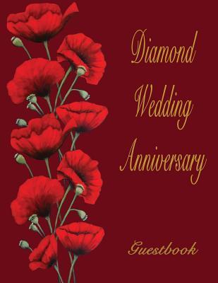 Diamond Wedding Anniversary Guestbook