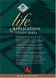 Life Application Study Bible, New Living Translation, Black LeatherLike