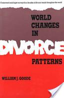 World Changes in Divorce Patterns