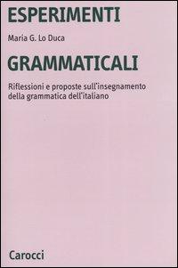 Esperimenti grammaticali