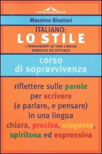 Italiano: lo stile