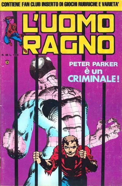 L'Uomo Ragno (2a serie) n. 58