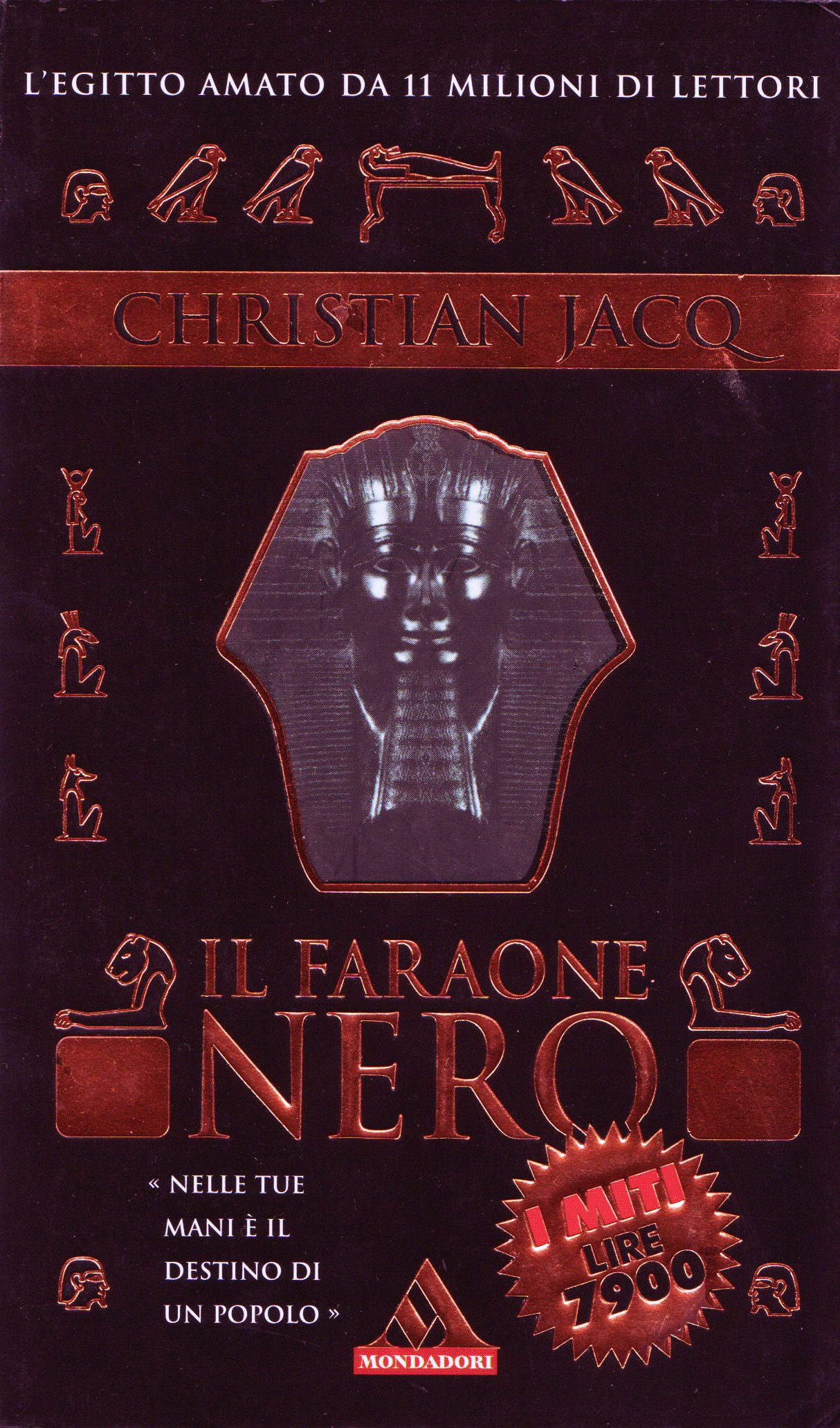 Il Faraone Nero Christian Jacq Anobii
