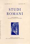 Studi Romani - A. LVI n. 1-4 (2008)