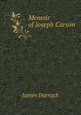 Memoir of Joseph Carson