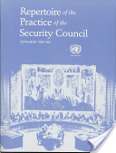 Repertoire of the Practice of the Security Council
