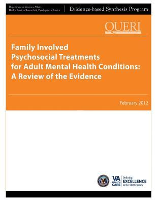Family Involved Psychosocial Treatments for Adult Mental Health Conditions