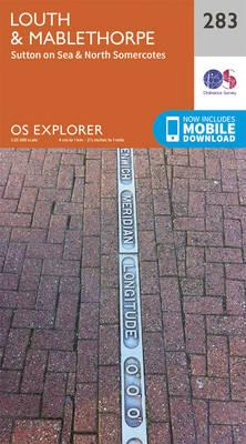 OS Explorer Map (283) Louth and Mablethorpe