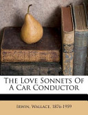 The Love Sonnets of a Car Conductor